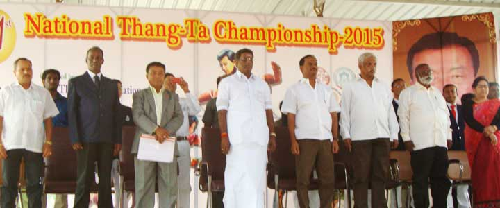 XXI National Thang-Ta Championship 2015