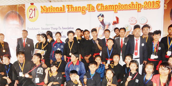 21ST NATIONAL THANG-TA CHAMPION 2015